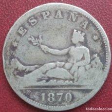 Monedas de España: 2 PESETAS 1870*73. Lote 239966895