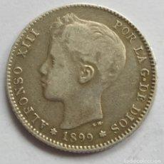 Monedas de España: ALFONSO XIII 1 PESETA 1899. Lote 240028365