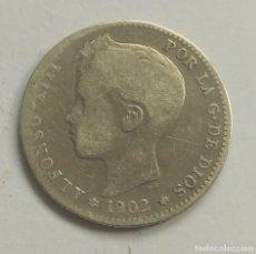 Monedas de España: ALFONSO XIII 1 PESETA 1902. Lote 240038365