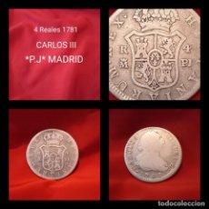 Monedas de España: ÚNICA EN T.C, 4 REALES CARLOS III 1781 **P.J** MADRID. Lote 240655390