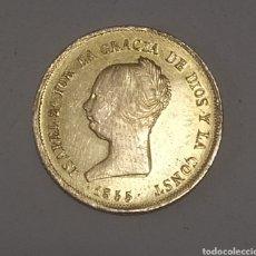 Monedas de España: MONEDA DE ORO100 REALES ISABEL II 1855 MADRID. Lote 237265820