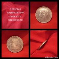Monedas de España: EXTRAORDINARIA 5 PESETAS 1899 . SIN CIRCULAR. Lote 240865205