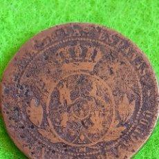 Monedas de España: MONEDA DE ISABEL II. NO SE VE MUY BIEN LAS FECHAS. PARECE 1867. Lote 241222330