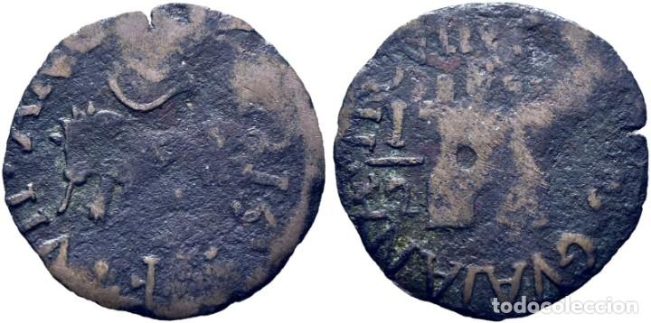 FERNANDO VII. GUYANA. 1/2 REAL. 1815. CY15123 (170€). MBC-. ESCASA (Numismática - España Modernas y Contemporáneas - De Reyes Católicos (1.474) a Fernando VII (1.833))