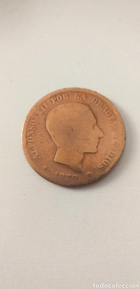 MONEDA 10 CENTIMOS 1879 ALFONSO XII (Numismática - España Modernas y Contemporáneas - De Isabel II (1.834) a Alfonso XIII (1.931))
