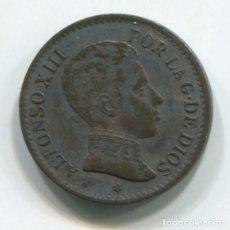 Monedas de España: ESPAÑA, ALFONSO XIII. UN CÉNTIMO DE 1906.. Lote 243859895