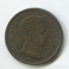 Monedas de España: ESPAÑA, ALFONSO XIII. UN CÉNTIMO DE 1906.. Lote 243860075