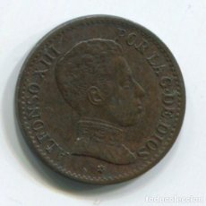 Monedas de España: ESPAÑA, ALFONSO XIII. UN CÉNTIMO DE 1906.. Lote 243860515