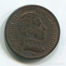 Monedas de España: ESPAÑA, ALFONSO XIII. UN CÉNTIMO DE 1906.. Lote 243860955