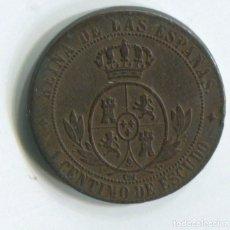 Monedas de España: ESPAÑA. ISABEL II.1 CÉNTIMO DE ESCUDO, 1868 JUBIA. Lote 243874595