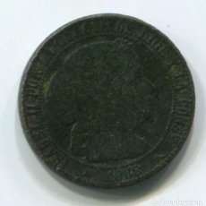 Monedas de España: ESPAÑA. ISABEL II.1 CÉNTIMO DE ESCUDO, 1868 SEGOVIA. (MUCHO MEJOR EN MANO, LAS FOTOS NO SON BUENAS). Lote 243875915