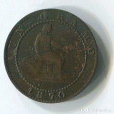 Monedas de España: GOBIERNO PROVISIONAL. UN CÉNTIMO DE 1870.. Lote 243864420