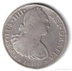 Monedas de España: ESPAÑA 8 REALES PLATA CARLOS IV 1800 FM CECA DE MEXICO. Lote 243881640