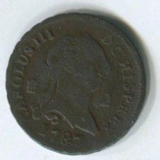 Monedas de España: ESPAÑA, CARLOS III 2 MARAVEDIS 1787 SEGOVIA. Lote 243881825