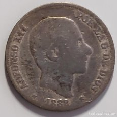 Monedas de España: 10 CENTIMOS DE PESO PLATA ALFONSO XII 1882 FILIPINAS. Lote 244483915