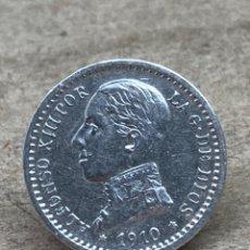 Monedas de España: MONEDA DE PLATA 50CENTS 1910. Lote 244489060
