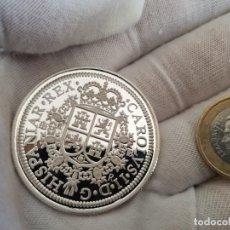 Monedas de España: MONEDA REAL DE A OCHO PLATA MACIZA 999 PESO 24,8 GRAMOS. Lote 244491755