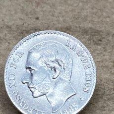 Monedas de España: MONEDA DE PLATA 50 CENT 1985. Lote 244493430
