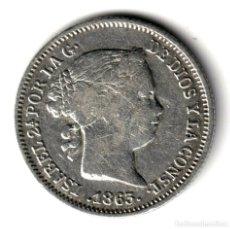 Monedas de España: ESPAÑA: 1 REAL PLATA 1863 REINA ISABEL II CECA DE SEVILLA. Lote 244557270