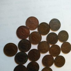 Monedas de España: LOTE DE 20 MONEDAS DE COBRE DE 1 CTO 1870- CALIDAD EXTRA. Lote 244613060