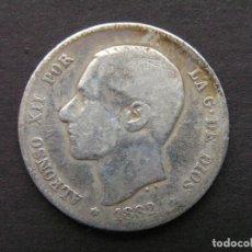 Monedas de España: ALFONSO XII - 1 PESETA DE PLATA 1882 (--/--). Lote 244641130