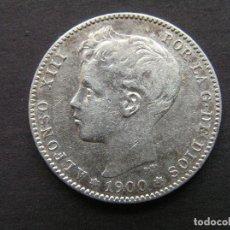 Monedas de España: ALFONSO XIII - 1 PESETA DE PLATA 1900 (19-00). Lote 244641275