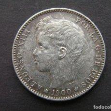 Monedas de España: ALFONSO XIII - 1 PESETA DE PLATA 1900 (19-00). Lote 244642105