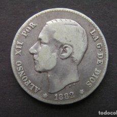 Monedas de España: ALFONSO XII - 1 PESETA DE PLATA 1882 (--/--). Lote 244642205