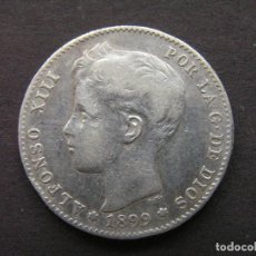 Monedas de España: ALFONSO XIII - 1 PESETA DE PLATA 1899 (--/--). Lote 244642460