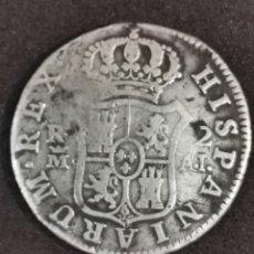 Moedas de Espanha: MONEDA DE PLATA 2 REALES CARLOS IV DEL AÑO 1808, CECA MADRID A.I. Lote 244682160