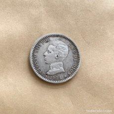 Monedas de España: 50 CÉNTIMOS ALFONSO XIII 1904 *0 *4 (REF. 38). Lote 244686940