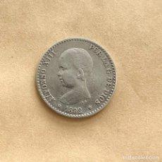 Monedas de España: 50 CÉNTIMOS ALFONSO XIII 1892 *X *2 (REF. 40). Lote 244689585