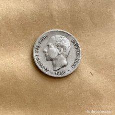 Moedas de Espanha: 50 CÉNTIMOS ALFONSO XII 1880 (REF. 43). Lote 244693320