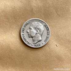 Monedas de España: 50 CÉNTIMOS ALFONSO XII 1880 (REF. 43). Lote 244693320
