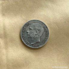 Monedas de España: 50 CÉNTIMOS ALFONSO XII 1880 *8 *0 (REF. 45). Lote 244694935