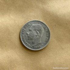Monedas de España: 50 CÉNTIMOS ALFONSO XII 1880 *8 *0 (REF. 46). Lote 244695510