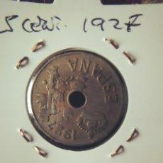Monedas de España: MONEDA DE 25 CÉNTIMOS DE 1927.. Lote 244697980