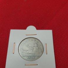Monedas de España: ANTIGUA MONEDA PLATA 2 PESETAS 1870 GOBIERNO PROVISIONAL. Lote 244781595