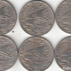 Monedas de España: ALFONSO XIII: 25 CENTIMOS 1925 ( 6 MONEDAS ). Lote 267863259