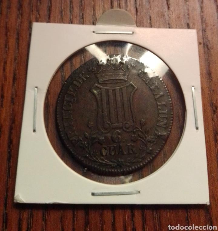 MONEDA 6 CUARTOS 1837 (Numismática - España Modernas y Contemporáneas - De Isabel II (1.834) a Alfonso XIII (1.931))