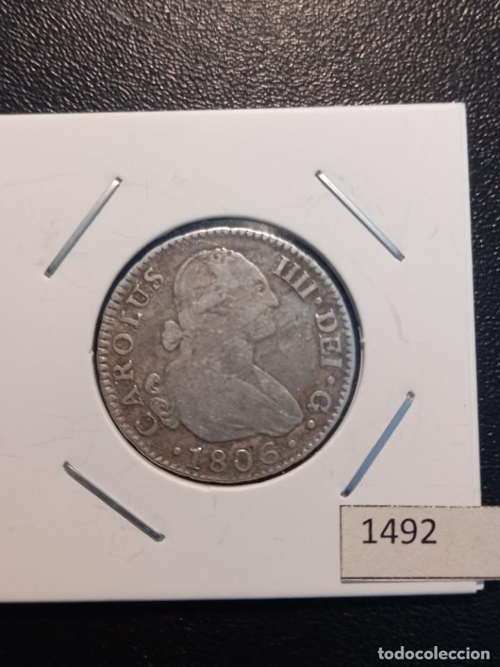 2 REALES 1806 ,SEVILLA (Numismática - España Modernas y Contemporáneas - De Reyes Católicos (1.474) a Fernando VII (1.833))