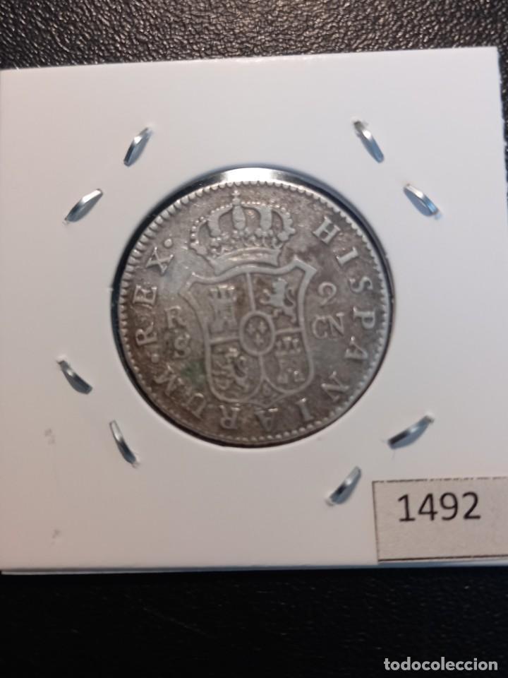 Monedas de España: 2 reales 1806 ,Sevilla - Foto 2 - 245369570
