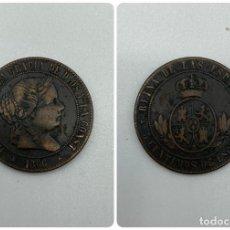 Monedas de España: MONEDA. ISABEL II. 5 CENTIMOS DE ESCUDO. SEGOVIA. 1866. VER FOTOS. Lote 245780035