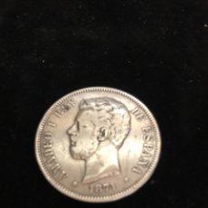 Monedas de España: MONEDA 5 PESETAS DE PLATA. 1871 *71. Lote 245781180