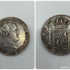 Monedas de España: MONEDA. FERNANDO VII. 20 REALES. MADRID. 1822. S.R. VER FOTOS. Lote 245787390