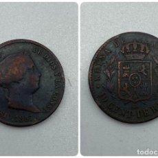 Monedas de España: MONEDA. ISABEL II. 10 CENTIMOS DE REAL. SEGOVIA. 1857. VER FOTOS. Lote 245788850