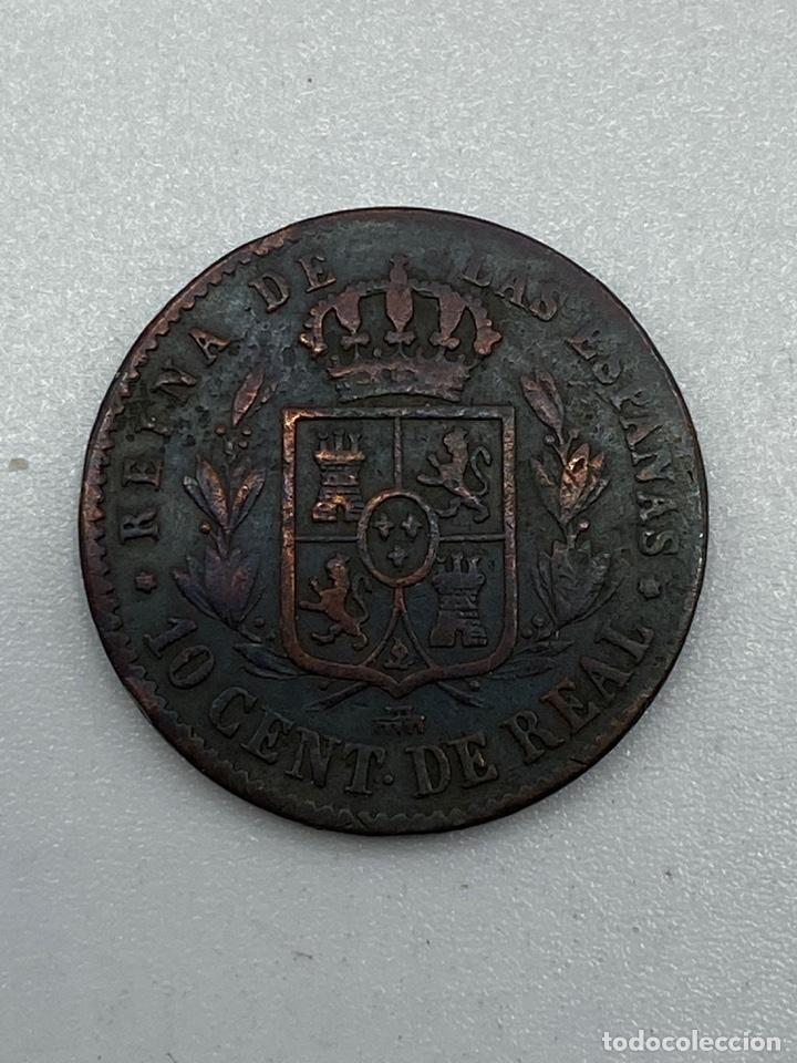 Monedas de España: MONEDA. ISABEL II. 10 CENTIMOS DE REAL. SEGOVIA. 1857. VER FOTOS - Foto 3 - 245788850