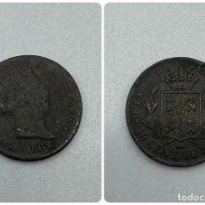 Monedas de España: MONEDA. ISABEL II. 10 CENTIMOS DE REAL. SEGOVIA. 1862. VER FOTOS. Lote 245789080