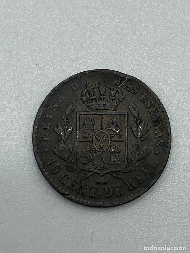 Monedas de España: MONEDA. ISABEL II. 10 CENTIMOS DE REAL. SEGOVIA. 1862. VER FOTOS - Foto 3 - 245789080