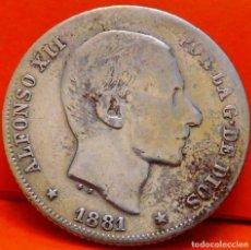 Monedas de España: ESPAÑA-ISLAS FILIPINAS, 20 CTS DE PESO, 1881. ALFONSO XII. PLATA. (961). Lote 245949790